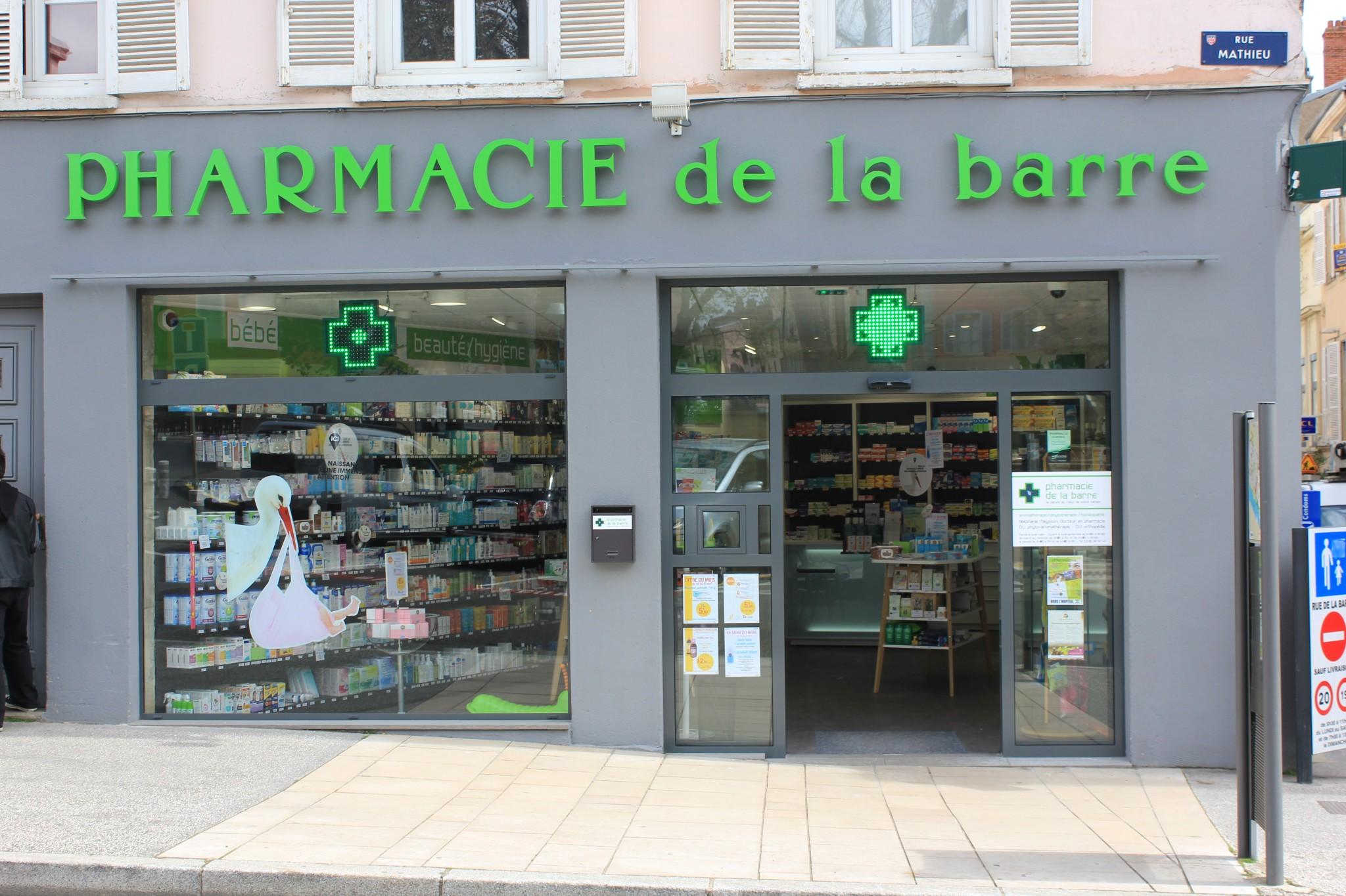 Bienvenue sur le blog de la Pharmacie de la Barre