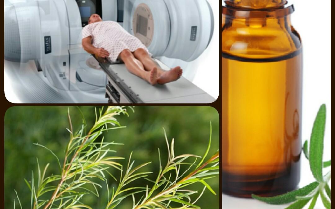Cancer : Prévention et traitement de la radiodermite par l'HE de niaouli ou l'HE d'arbre à thé (tea-tree)